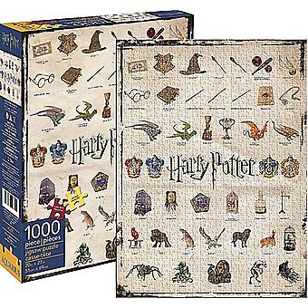 Harry Potter icônes 1000 piece jigsaw puzzle 690 x 510 mm (nm)