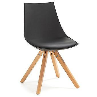 Liro Black Natural Wood Chair Liro (Furniture , Chairs , Chairs)