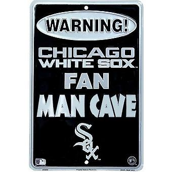 Chicago White Sox MLB Fan Man Cave Parking Sign