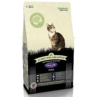 James Wellbeloved Senior Cat Food With Fish
