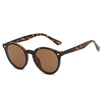 Crosby | s1100 - unisex fashion retro round horn rimmed sunglasses