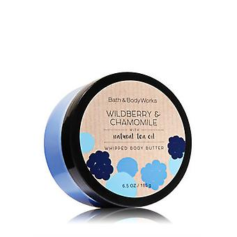 Bath & Body Works Wildberry & Chamomile Whipped Body Butter 6.5 oz / 185 g