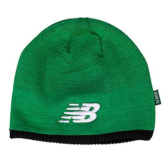 Mens New Balance Celtic Supporters Beanie Hat In Green White