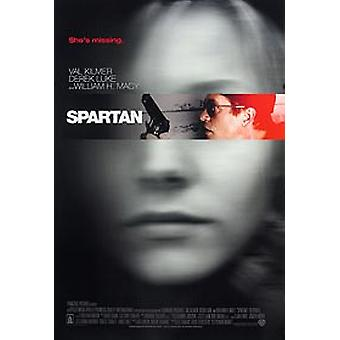 Affiche de cinéma originale Spartan (Double Sided Regular)