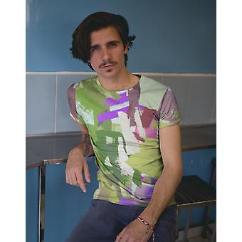 Green freshness premium sublimation adult t-shirt
