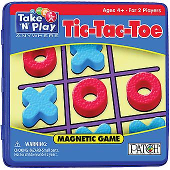 Take N Play Anywhere Game Tin Tic Tac Toe Tnp 675