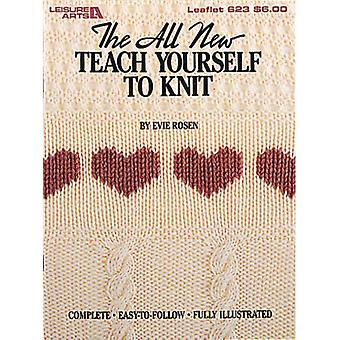 Leisure Arts Teach Yourself To Knit La 623