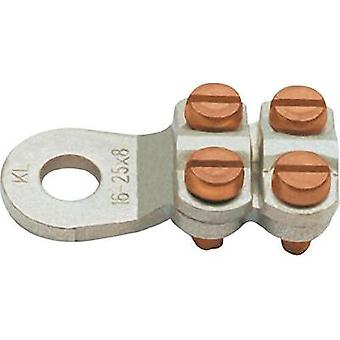 Ring terminal Cross section (max.)=35 mm² Hole Ø=10.5 mm Not insulated Metal Klauke 585R10 1 pc(s)