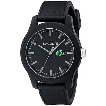 Lacoste 2010766 watch - round mixed black
