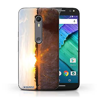 STUFF4 Tilfelle/Cover for Motorola Moto X stil/Harvest tid/Sunset natur