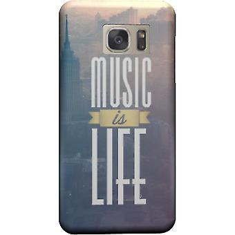 Musik ist Leben-Cover für Galaxy Note 5