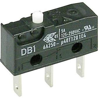 Microswitch 250 Vac 6 A 1 x On/(On) Cherry Switches DB1C-B1AA momentary 1 pc(s)