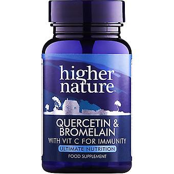 Higher Nature Quercetin & Bromelain 60 veg tablets
