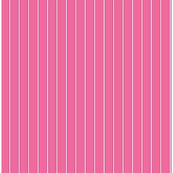 Stripe Wallpaper Modern Lines Lined Stripey Pink White Girls Bedroom Decorline