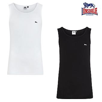 Lonsdale mens tank top Shipley stretch