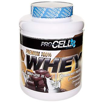 Procell Whey 100% Protein Premium Chocolate Con Leche 2 Kg (Sport , Wiwit)