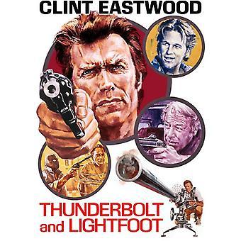 Thunderbolt & Lightfoot [DVD] USA importerer