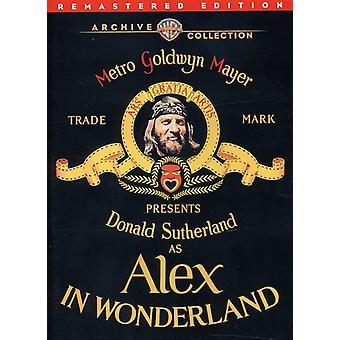 Alex au pays des merveilles (Remastered) [DVD] USA import