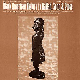 Black American History in Ballad Song & Prose - Black American History in Ballad Song & Prose [CD] USA import