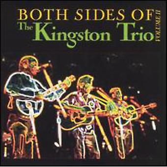 Kingston Trio - Kingston Trio: Vol. 2-begge sider af Kings [CD] USA importen