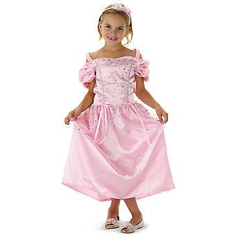 Princess dress pink kids costume dress child costume