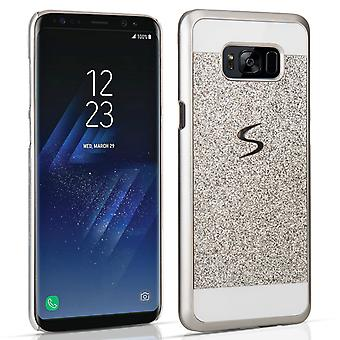 Samsung Galaxy S8 Flash Diamond Case Silver