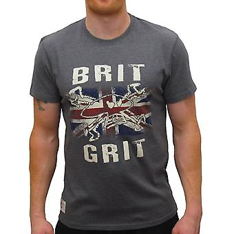 Red Torpedo Clothing Brit Grit Graphite Tee