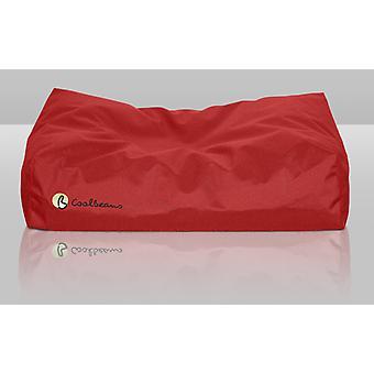 Coolbeans seng store røde 80x105x15cm