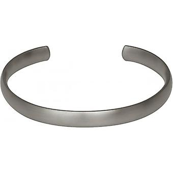 Ti2 Titan 8mm brett domstolen Torc Bangle - Matt Silver