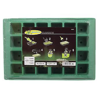 Altadex Kit seedling tray with cover + 24 Holes