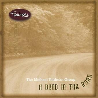 Michael Feldman Group - bocht in de weg [CD] USA importeren