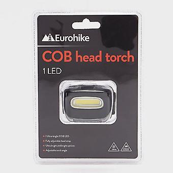 Black Eurohike COB Head Torch 1 LED