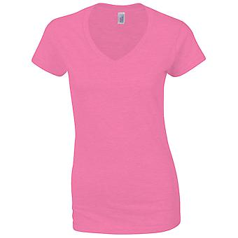 Gildan Ladies Soft Style Short Sleeve V-Neck T-Shirt