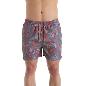 Camille Grey & Coral Mens Swmming Shorts