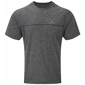 Ron Hill Everyday S/S Tee - Grey Marl