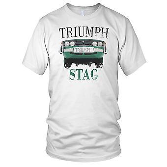 Triumph Stag Front Classic Car Mens T Shirt