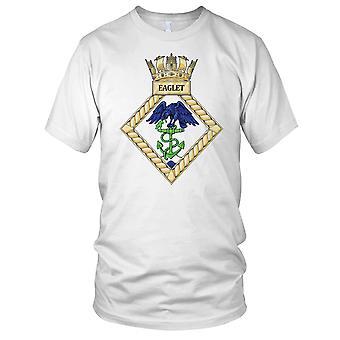 Royal Navy HMS Eaglet Kids T Shirt