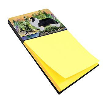 Collie Refiillable notitie houder of Postit Opmerking Dispenser