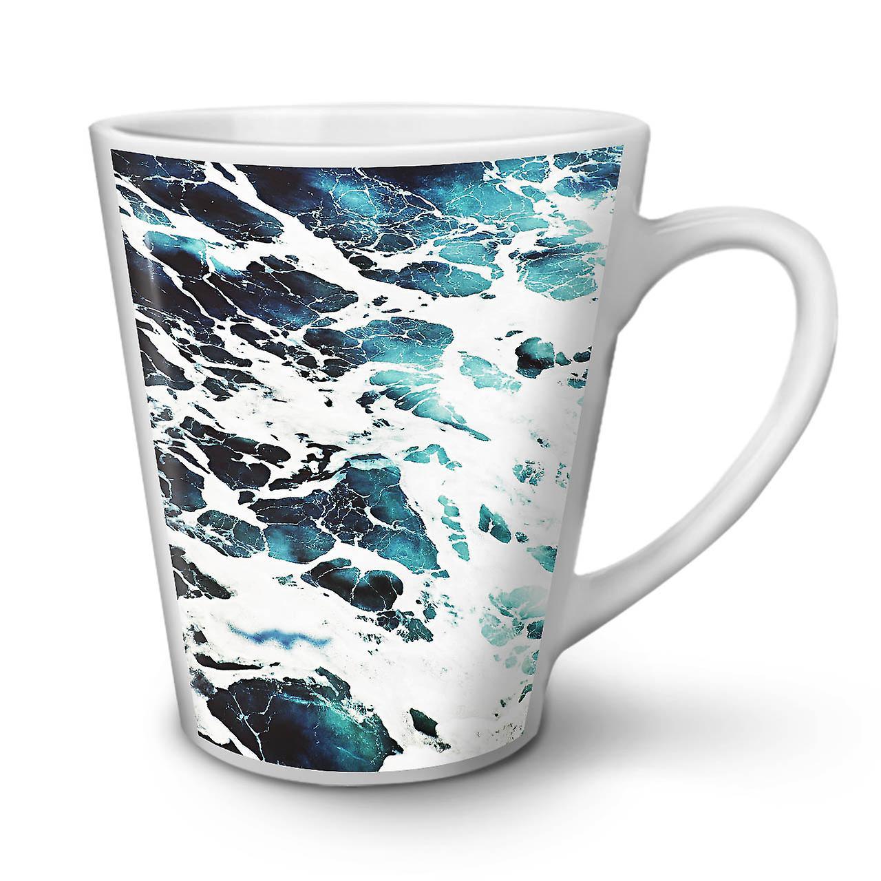 Céramique Belle 12 Vie Tasse Nouvelle En Café Latte Mer Blanche OzWellcoda QxroedBWCE