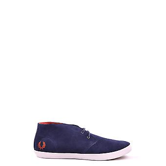 Fred Perry men's MCBI128013O Blau suede of sneakers