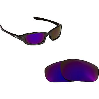 Best SEEK Replacement Lenses for Oakley Sunglasses FIVES 4.0 Purple Mirror