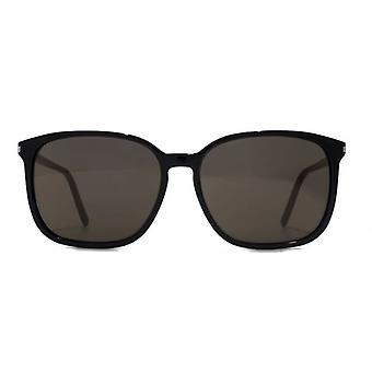Saint Laurent SL 37 Sonnenbrille In schwarz