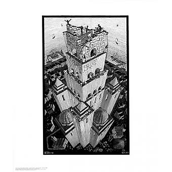 Tower of Babel Poster Print by MC Escher (22 x 26)