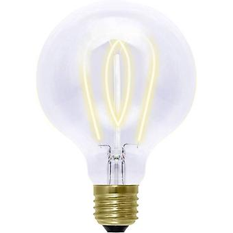 LED E27 Globe 4 W = 15 W Gold (Ø x L) 95 mm x 130 mm EEC: B Segula dimmable, Filament 1 pc(s)
