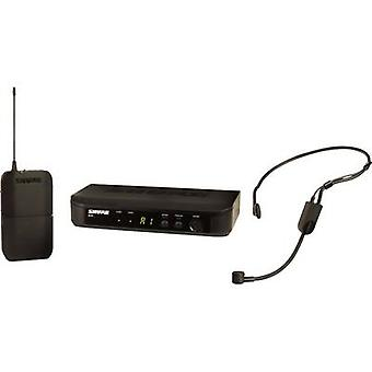 Wireless microphone set Shure BLX14E/P31-S8 Transfer type:Radio incl. pop filter