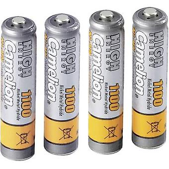 AAA battery (rechargeable) NiMH Camelion HR03 1100 mAh