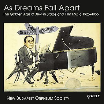 Leopoldi / Eisler / Brudno / nye Budapest Orpheum - som drømme efterår Apart-den gyldne alder af jødiske Film [CD] USA import