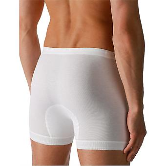 Mey 2815 Men's Noblesse White Pima Cotton Fitted Boxers