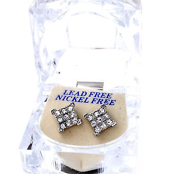Iced out bling earrings box - 3 x 3 ICE