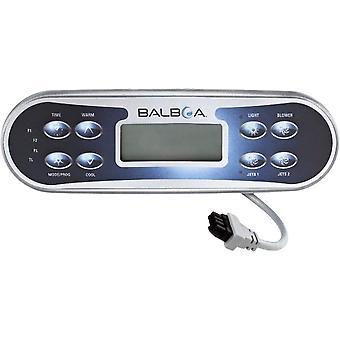 Balboa 52649-01 Spa ovansida 8 knapp för ML700/600 E8